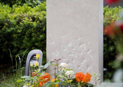 Kalkstein handwerklich bearbeitet